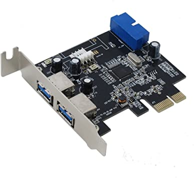 PCI Express USB 3.1 Gen I 5Gbps SEDNA 4 Port Adapter with Low Profile B...