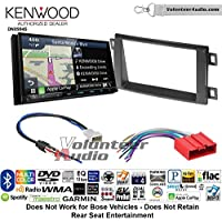 Volunteer Audio Kenwood Excelon DNX994S Double Din Radio Install Kit with GPS Navigation Apple CarPlay Android Auto Fits 2013-2016 Mazda CX-5