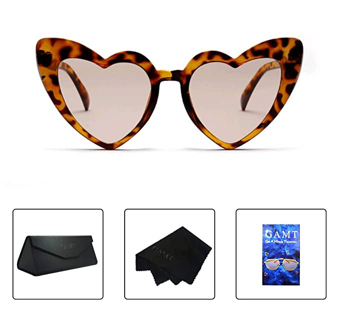 Clout goggles mom sunglasses compared. Gamt heart shape for