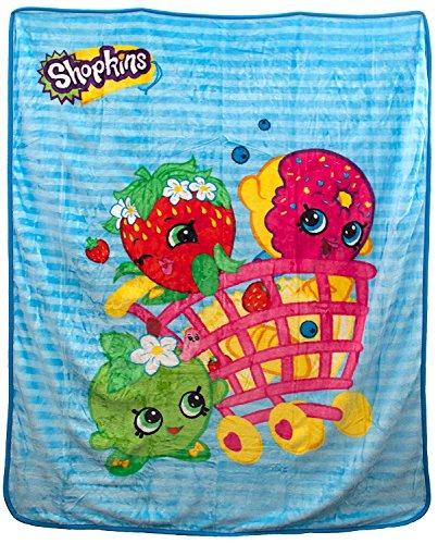 Shopkins Shopping Basket Characters Blanket product image