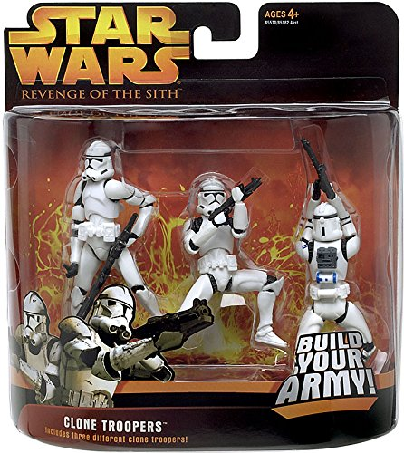 Star Wars Revenge of the Sith Clone Trooper 3 Pack