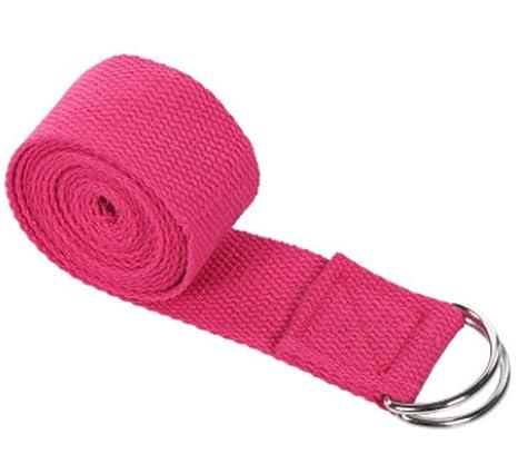 Correa elástica para Yoga, cinturón en Forma de D, para ...