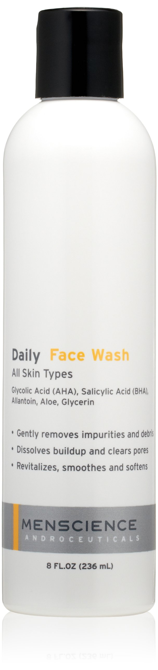 MenScience Androceuticals Daily Face Wash, 8 fl. oz.