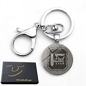 Amazon Com Father S Day Keychain Gifts Christmas Birthday Gifts For Dad Daddy Father Gifts From Daughter Son With Gift Box I Love You Dad Office Products