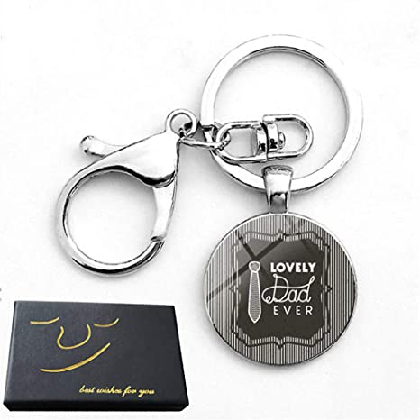 Amazon com: Father's Day Keychain Gifts Christmas Birthday