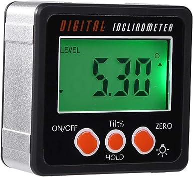 Digital Neigungsmesser Elektronische Winkelmesser Bevel Winkelmesser 0-360°
