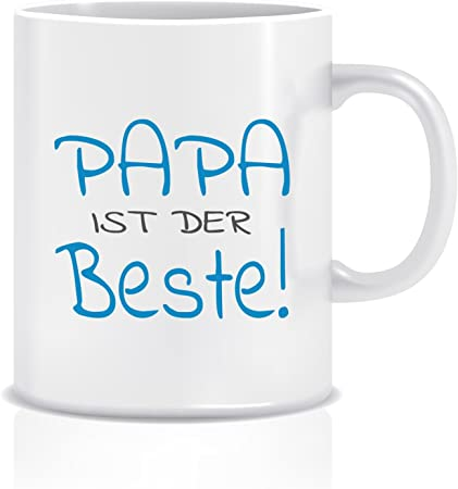 Taza con caja * mejor mamá * Bester Papa * Regalo – Vaso para ...