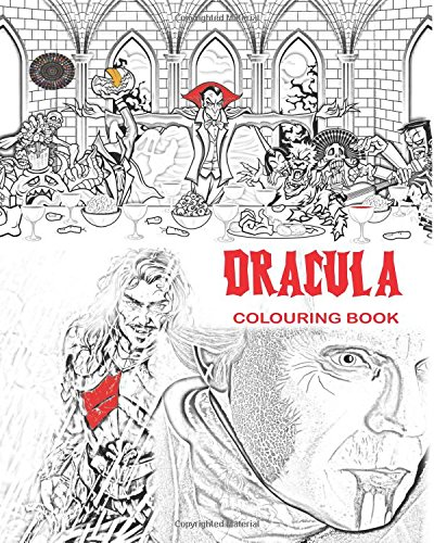 Read Online Dracula Colouring Book: Stress Free Adult Colouring Book and Mandalas of Count Dracula, Bats, Halloween, Horror Costumes, Skeleton Eyeballs, Ghosts, ... boys, girls: to use glow in the dark colours pdf