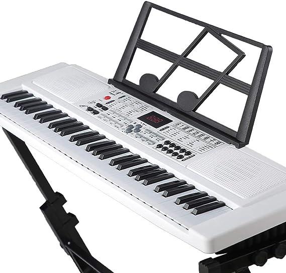 Eléctrico 61 Tecla del teclado piano, órgano eléctrico ...