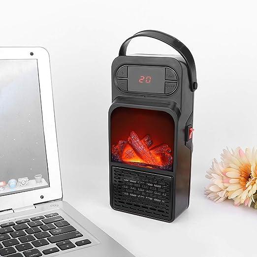Calentador de llama práctico Mini calentadores eléctricos ...