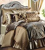 Jennifer Taylor Home, 9-Piece Comforter Set, Queen, Multcolored Emroidered Woven