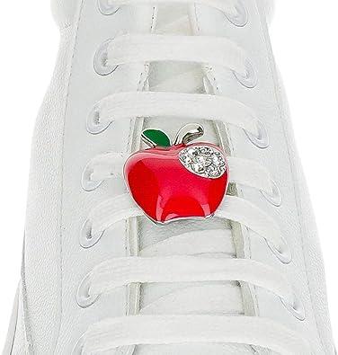 Schnürsenkel Anhänger – Apfelrote Schnürsenkel – Sneaker Tag