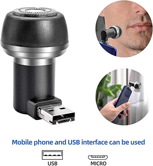 Maquinilla de afeitar eléctrica para hombres, maquinillas de ...