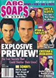 Maurice Benard, Michael Saucedo, General Hospital Nurse's Ball Behind-the-Scenes, David Fumero, Constance Towers - July 27, 1999 ABC Soaps in Depth Magazine [SOAP OPERA]