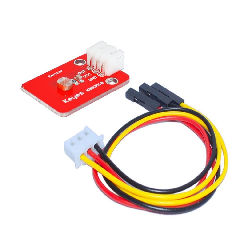 Bobury Module avec capteur photosensible Lumiè re 3Pin Fil des signaux en signaux é lectriques pour Le Dé veloppement ARDUINO Conseil