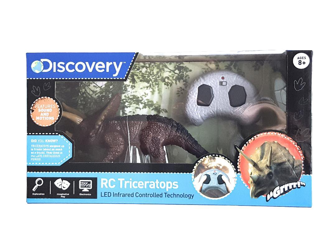 Discovery Remote Control Triceratops