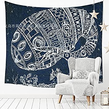 Tapestry Tapestries Decor Wall hanging Sketch landscape hang cross-border sketch landscape hang cloth room dormitory tapestry wall straight other sizes 210762 may