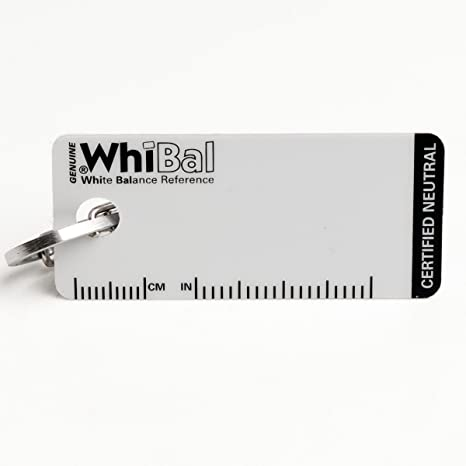 WhiBal G7 - Tarjeta de Balance de Blancos neutros con Certificado ...