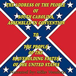 The Address of the People of South Carolina to the People of the Slaveholding States of The United States Sample