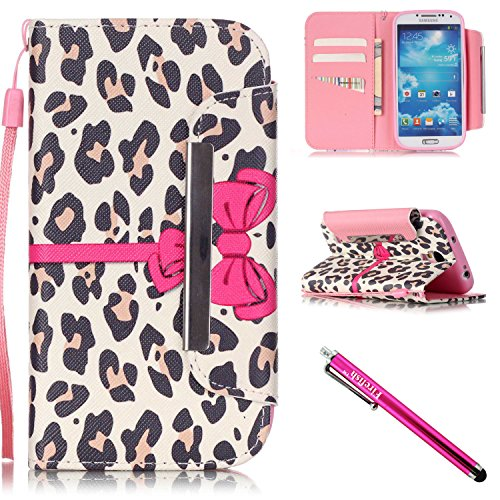 Firefish Kickstand Magnetic including Stylus Leopard