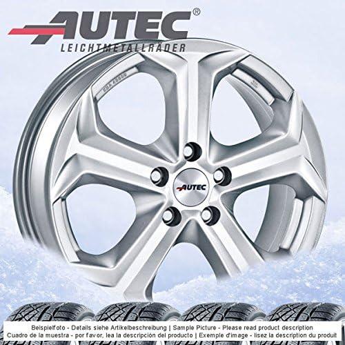 4 Winterräder Autec Xenos 7 0jx17 Et49 5x114 3 Silber Mit 225 60 R17 99h Continental Wintercontact Ts 850p Suv Für Hyundai Tucson Auto