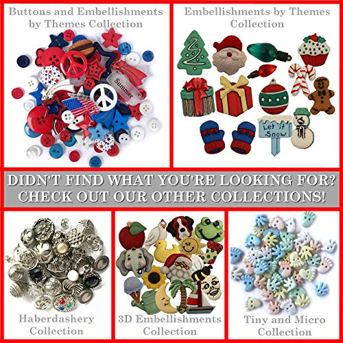 Craft  cardmaking Assorted Novelty Buttons Random selection sewing- NEW