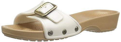 d035e4b48461c6 Crocs Women s Sarah W Wedge Sandal Black  Crocs  Amazon.ca  Shoes ...