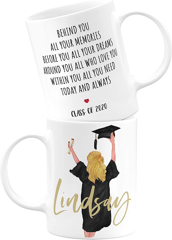 Class Of 2020 Graduation Surprise Office Work Cup Gift Coffee Tea Ceramic Mug