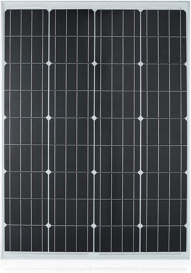 TP-solar Solar Panel 100 Watts 12 Volts Monocrystalline High Efficiency 100W 12V Mono Module RV Marine Boat Off Grid