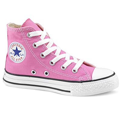da43aee1f5e4 CONVERSE Chuck Taylor All Star Hi-Top (Infant) Kids Trainer - Pink ...