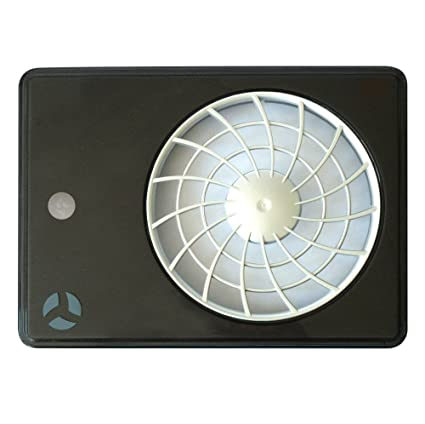 Airflow ACVMBK - Tapa de repuesto para extractor Aura Smart con sensor de movimiento, color