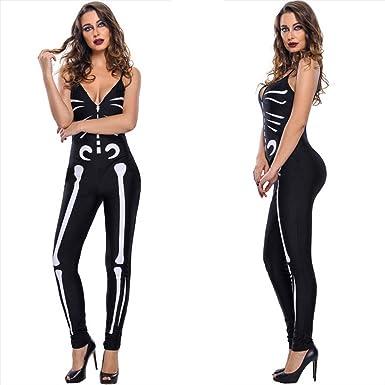 Sexy skeleton bodysuit