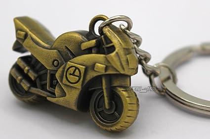 Mini motocicleta Bronce Metal Llavero de VMG de Store ...
