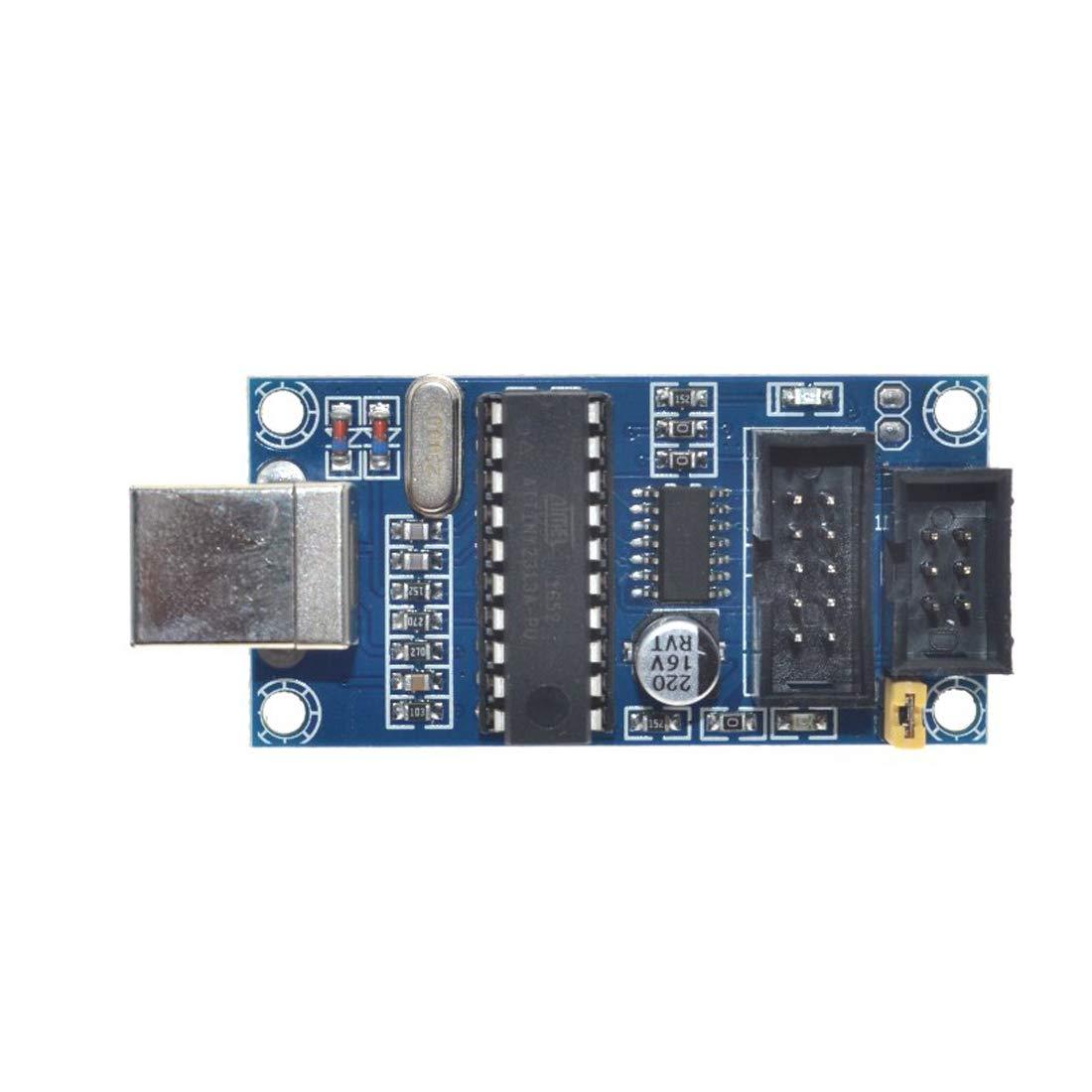 USBTiny USBtinyISP AVR ISP Programmer 6//10 Pin Bootloader for AVR Arduino IDE Bootloader