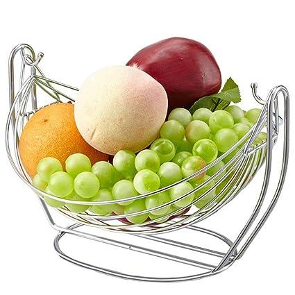 Frutero Acero inoxidable Swing Canasta de frutas Creativo ...