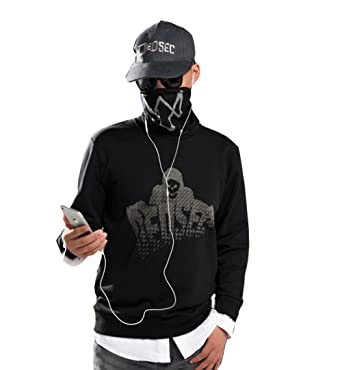 Amazon Com Elegant Men S Watch Dogs 2 Marcus Holloway Faux Two