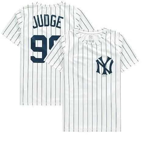 pretty nice f4da5 1af24 Amazon.com : Aaron Judge New York Yankees Cooperstown ...