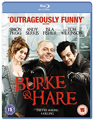 Burke and Hare (2010) ( Burke & Hare ) [ NON-USA FORMAT, Blu-Ray, Reg.B Import - United Kingdom ]