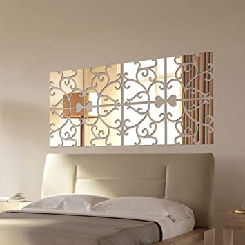 Modern Trellis Peel & Stick Wall Decor & DIY project decal sticker wallpaper Decals, Stickers & Vinyl Art