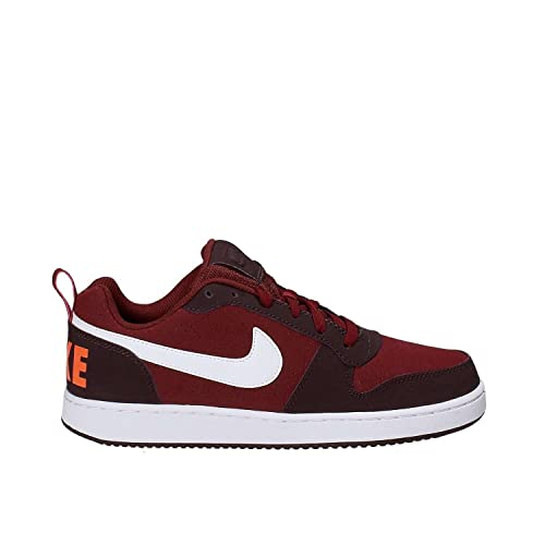 Nike Men s Court Borough Low DKTeamRed wht-PortWine Sneakers-10 UK India 204d9e697