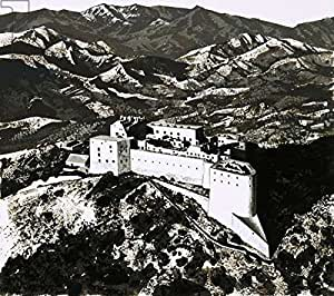 The Citadel Of King Christophe (304766), lino, 30 x 30 cm