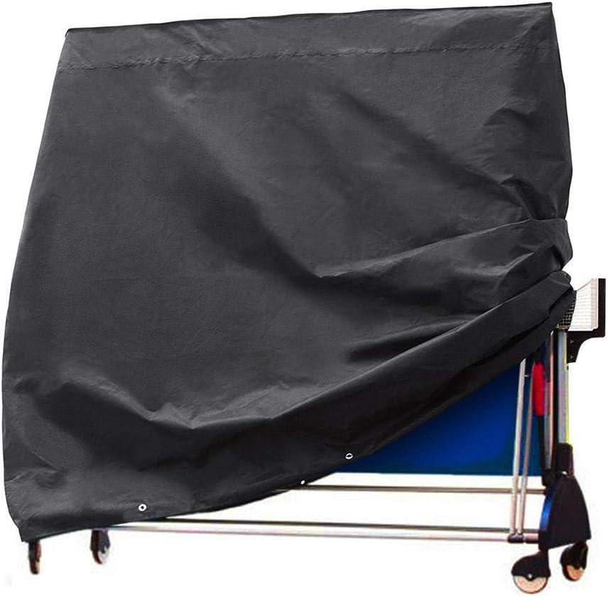 thelastplanet Funda Mesa Ping Pong Cubierta De Tenis De Mesa Impermeable Resistente Al Polvo Anti-UV Protección 4 Tamaños Elegir