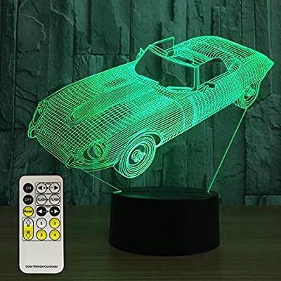 Night Light 7 Colors Changing with Remote Night Lights for Kids Room Décor or Perfect Gift for Kids by eTongtop