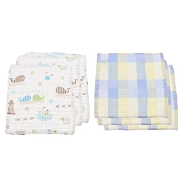 5b641300d Amazon.com   Fityle 6Pcs Newborn Baby Girl Handguard Gloves Infant ...