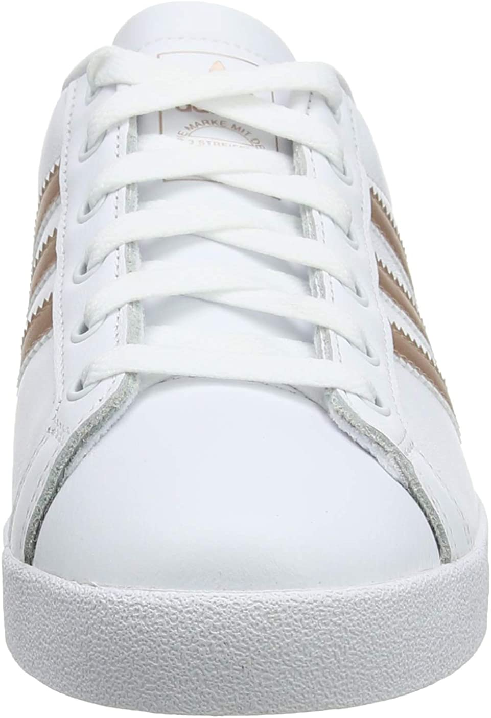 adidas Women's Low-Top Sneakers White (Footwear White/Copper Metallic/Grey 0)