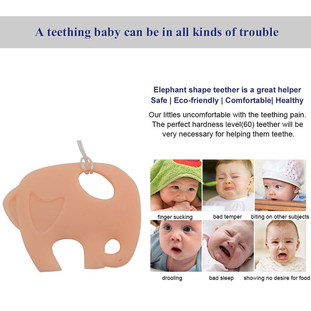 Infantil INCHANT bebé elefante dentición Chew Toy y Chupete ...
