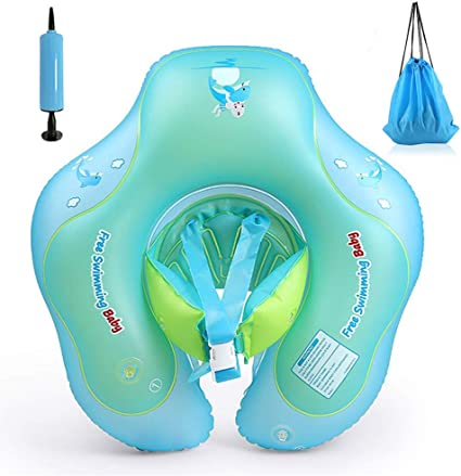 EXCEED Flotador de Natación para Bebés, Piscina Inflable para bebés Flotador para niños Flotante para niños, Piscina Flotante para la Edad de 15-36 Meses (XL)