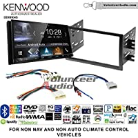 Volunteer Audio Kenwood DDX9904S Double Din Radio Install Kit with Apple CarPlay Android Auto Bluetooth Fits 2008-2012 Nissan Titan