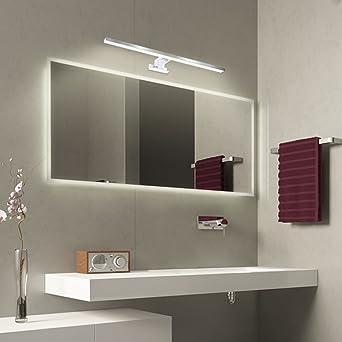 Spiegelleuchte, ATSHARK Spiegellampe moderne Badlampe 48LED ...