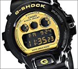 Casio - G-Shock - Mirrored Style - DW6900-CB Series - Black w/ Gold Face , One Size